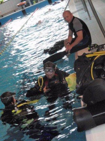 Nowy Sącz nurkowanie Sealion